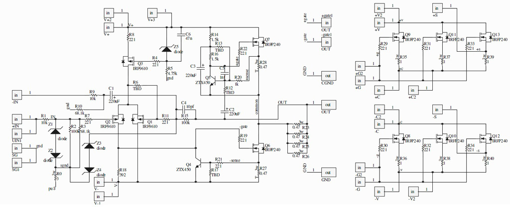wittnet.de First Watt aleph j mini BrianGT schematic